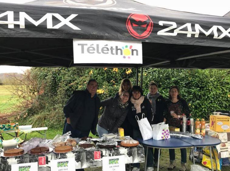 BMX Téléthon 1