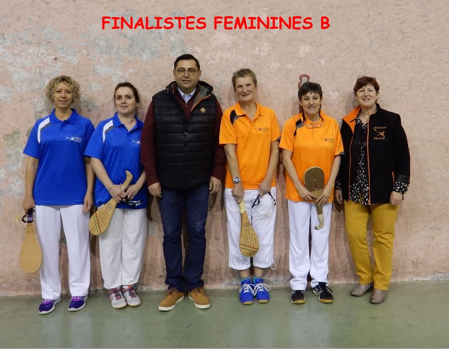 Finalistes Féminines B