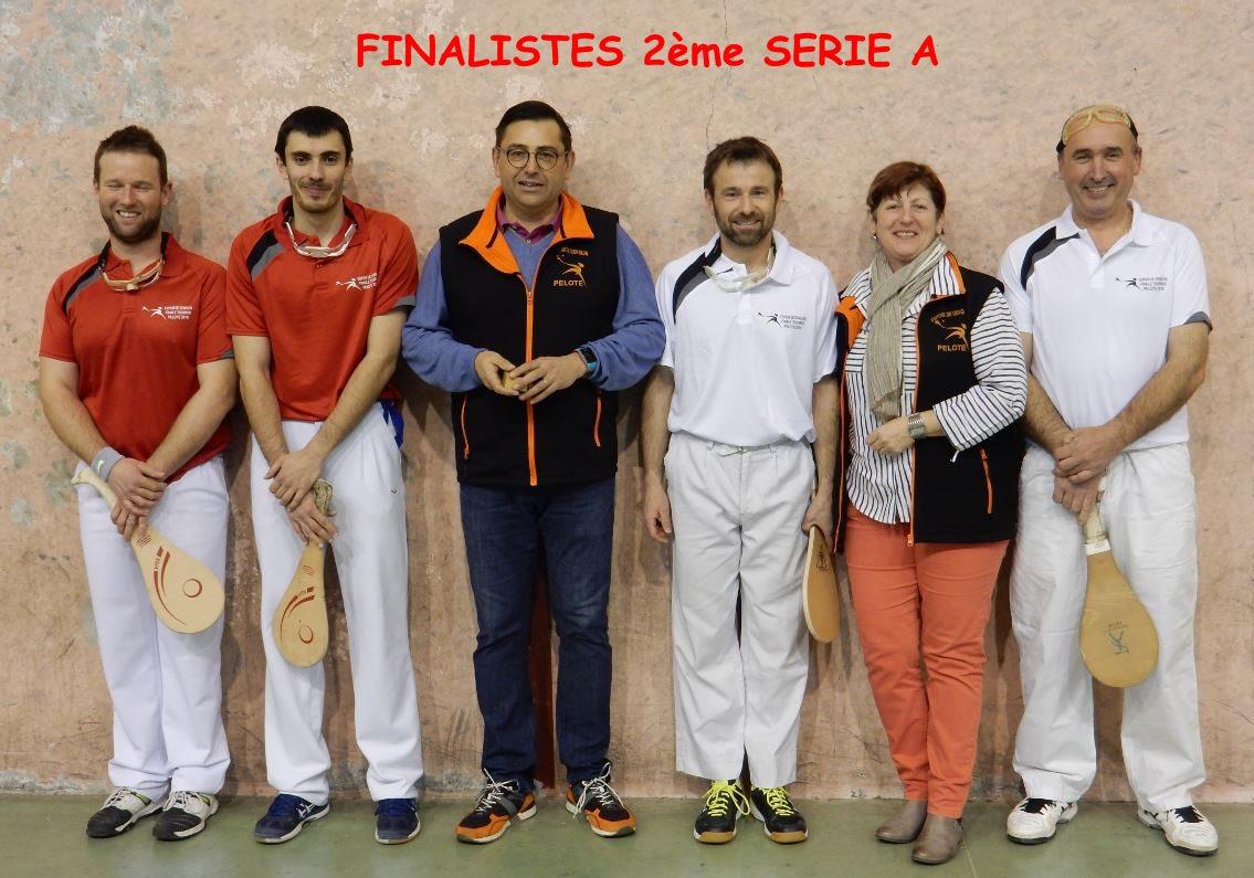 Finalistes 2ème série A