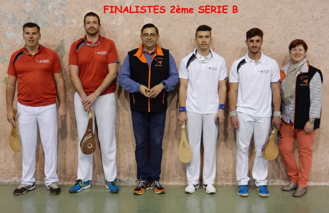Finalistes 2ème série B